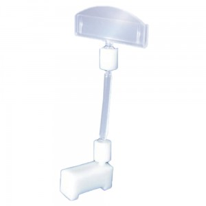 Price Stand Holder 50 mm Colourless Price Holder
