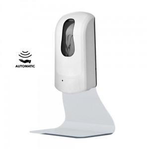 Automatic Non-Contact Dispenser for Sanitizer Gel That Can Be Placed On a Desk Or Mounted On The Wall