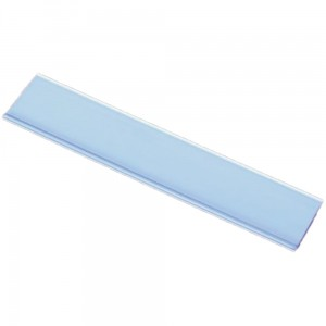 DBR 15 Price Strip, PVC Self-Adhesive Price Tag 15 mm 1 m Long