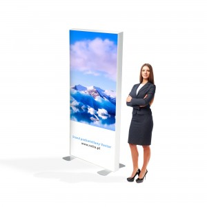 Vector LED Freestanding Light Box 100 x 200cm