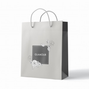 Paper Advertising Bags  320 x 400 x 130 mm