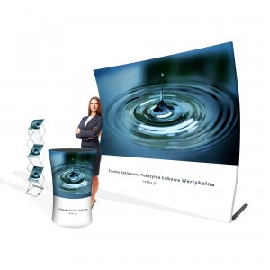 Liquid Promotional Kit - Wall + Counter + Stand