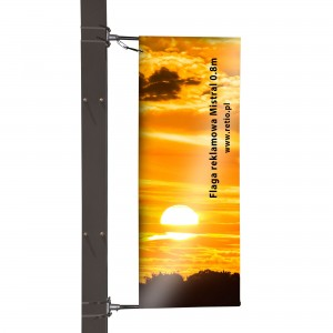 Mistral Advertising Flag - Double-Sided, Banner Print