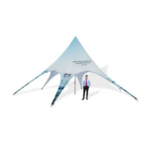 STAR Advertising Tent 10x5m with Individual Print