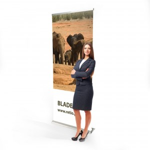 Roll-up Print 85 x 210 cm Baner