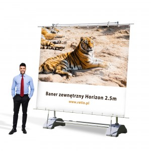 Printout for Horizon Outdoor Banner 2500 x 2400 mm