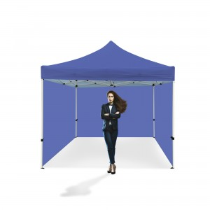Advertising Tent 3x3m without Print, White or Blue