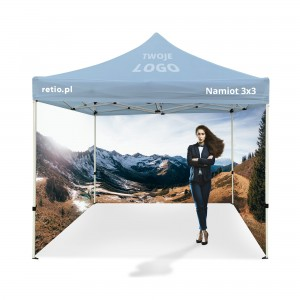 Advertising Tent 3x3m with Individual Print