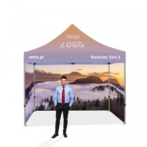 Advertising Tent 3x4.5m with Individual Print