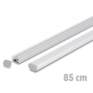 TWIN 85 cm - Advertising Banner Strips with Express Clamp