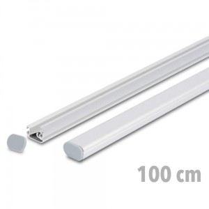 TWIN 100 cm - Advertising Banner Strips with Express Clamp