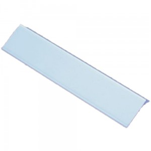 Price Holder Strip, 39x1000 mm Self-Adhesive PVC Price Strip, 38-degree Angle