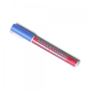 Chalk Marker 3 mm Blue Liquid Chalk Marker Pen for Chalkboards