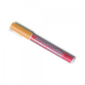 Chalk Marker 3 mm Orange Liquid Chalk Marker Pen for Chalkboards