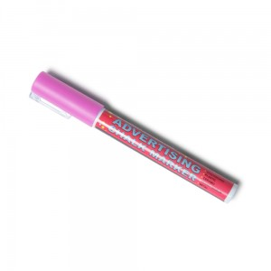Chalk Marker 3 mm Pink Liquid Chalk Marker Pen for Chalkboards