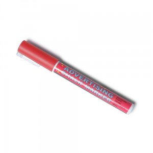 Chalk Marker 3 mm Red Liquid Chalk Marker Pen for Chalkboards