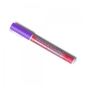Chalk Marker 3 mm Violet Liquid Chalk Marker Pen for Chalkboards