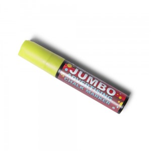 Chalk Marker 15 mm Yellow Liquid Chalk Marker Pen for Chalkboards