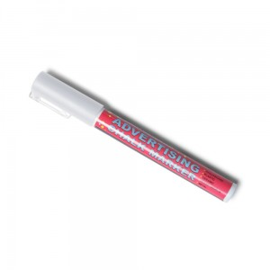 Chalk Marker 3 mm White Liquid Chalk Marker Pen for Chalkboards