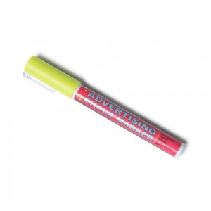 Chalk Marker 3 mm Yellow Liquid Chalk Marker Pen for Chalkboards