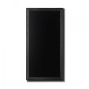 NATURE Chalkboard Black  56 x 100 cm, Wooden Chalkboard with a Black Surface for Writing with Chalk Markers