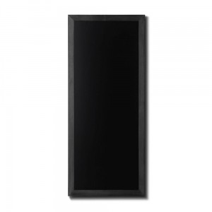 NATURE Chalkboard Black  56 x 120 cm, Wooden Chalkboard with a Black Surface for Writing with Chalk Markers