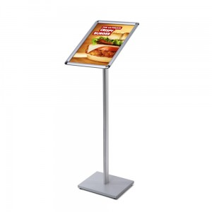 MBARD Menu Stand, A3 Frame Information Display Stand for Restaurant, Gastronomy, Hotel, Poster Stand, Menu Board with Rounded Corners