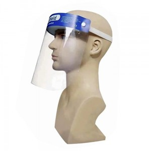 Protective Face Shield With a Forehead Foam Insert