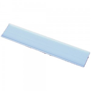 Price Holder Strip, 55x1000 mm Self-Adhesive PVC Price Strip