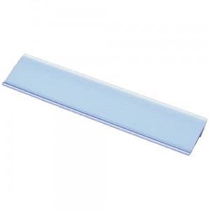 Price Holder Strip, 52x1000 mm Self-Adhesive PVC Price Strip, 25-degree Angle