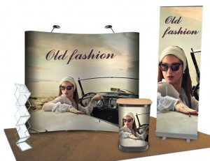 12m2 Old Fashion Exhibition Set